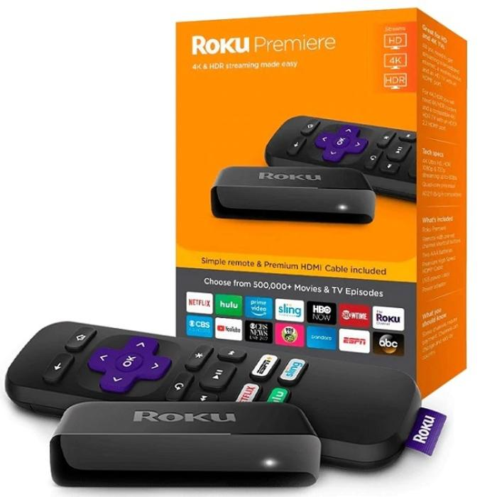 Roku Premiere 3920r Estándar 4k / Hdr / Streaming Easy