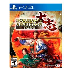 Juego Ps4 Playstation4 Nobunagas Ambition Taishi Fisico Orig